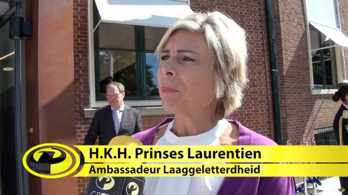 Prinses Laurentien opent Fryske Akademy