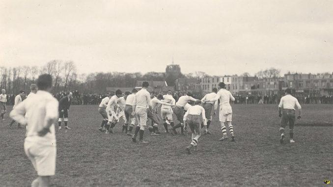 rugbywedstrijd Leeuwarden