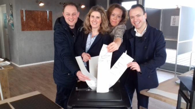 CDA stemt in Grou
