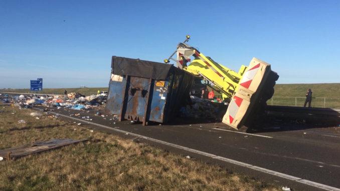 Ongeval Afsluitdijk