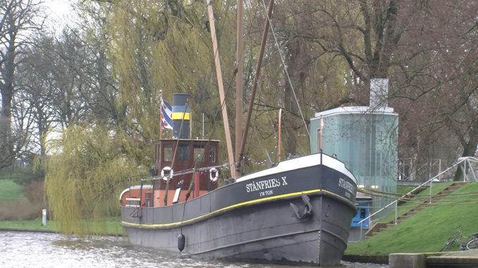 Vlaggenschip Museumhaven Leeuwarden losgegooid